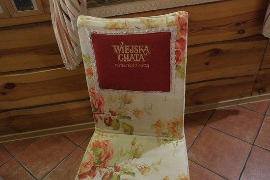 Wodzislaw Slaski, Poland: Słodkie pokrowce na krzesłach