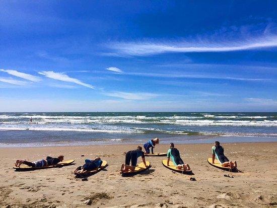 Bloemendaal, Niederlande: Surf les