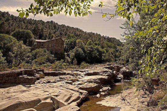 Largentiere, Francia: Notre rivière, le Roubreau