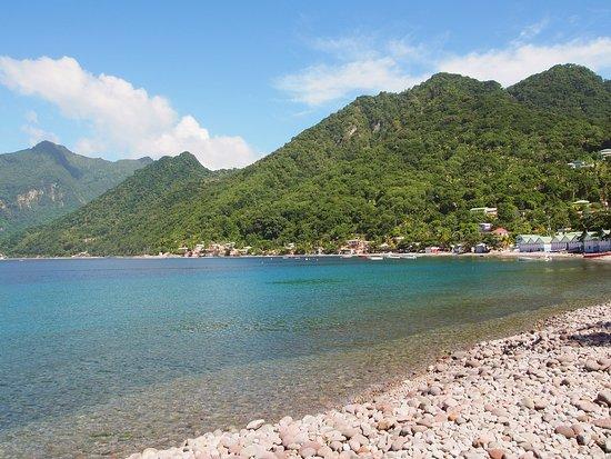 Scotts Head, Доминика: Scott's Head beach by Paul Crask @ Freediving Dominica