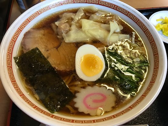 Shirakawa, ญี่ปุ่น: 手打ちラーメン 英
