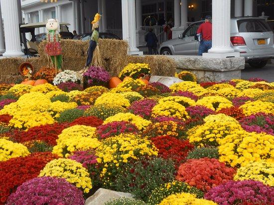 Omni Mount Washington Resort: Front Entrance landscape