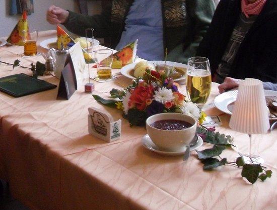 Sonneberg, Jerman: Familienfeier
