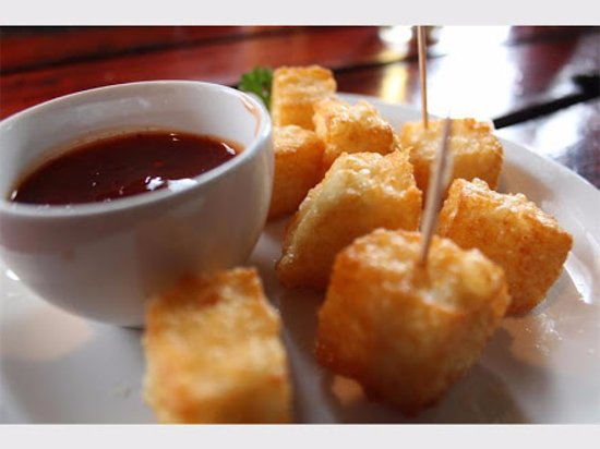 Benoni, Sudáfrica: Deep Fried Halloumi