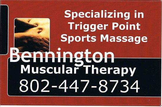 Bennington Muscular Therapy and Massage: Certifide Myotherapist specializing in deep tissue work