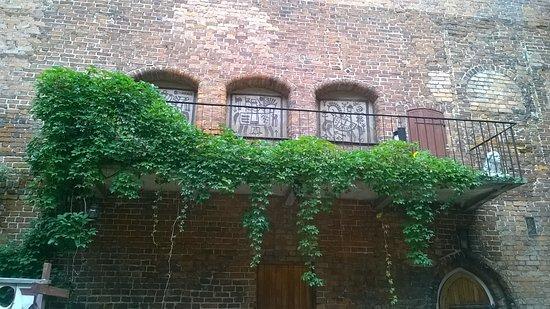 Ketrzyn, Poland: balkon