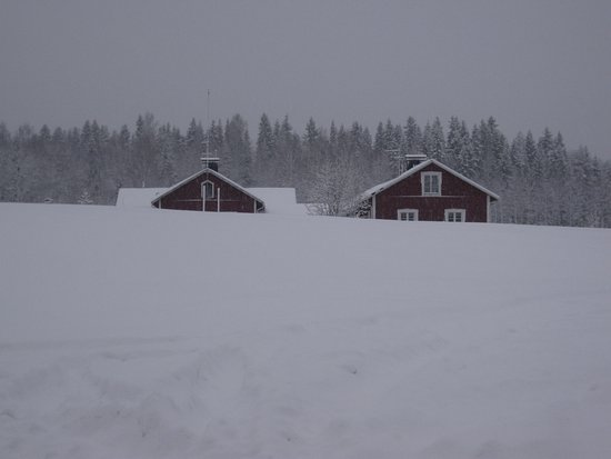 Sotkamo, Finland: Maanselän etappi at winter