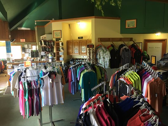 Bluff Point Golf Resort : Our Well Stocked Proshop