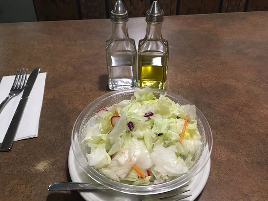 Unity, Kanada: Very Plain Salad.