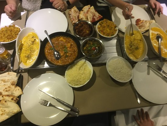 Indian fusion markfield: Perfect meal with the family, friendly and attentive as they always are Happy to put into bags a