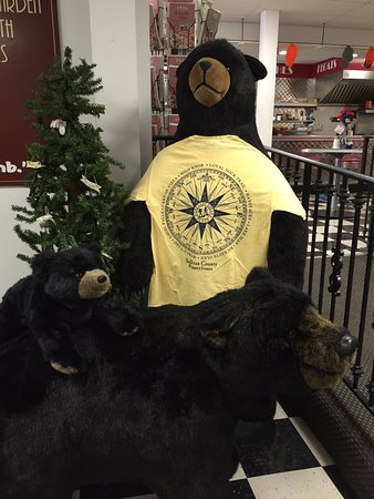Dushore, PA: Burgers, Fries and Bears!