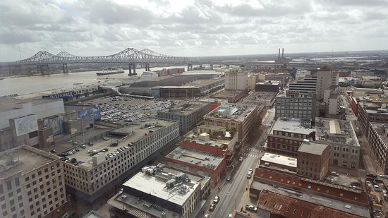Loews New Orleans Hotel: View from Room 2114 towards Bridge (Day)