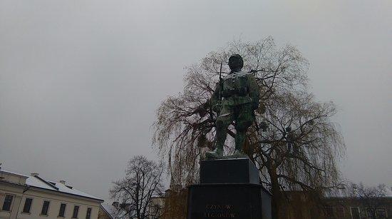"""Monument """"Czynu Legionow"""""""