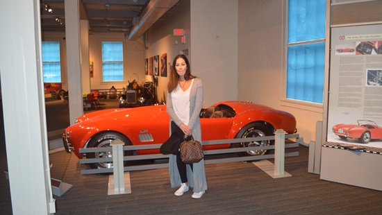 The Saratoga Automobile Museum: My wife and my dream car