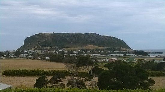 Stanley, Australia: this is a view from our room