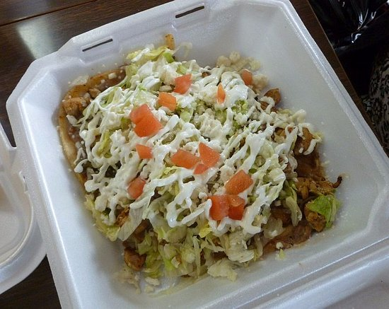 Spokane Valley, WA: Huaraches con Pollo...
