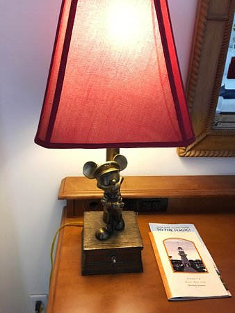 Cute mickey mouse lamp on work desk picture of disneys yacht club disneys yacht club resort cute mickey mouse lamp on work desk aloadofball Choice Image