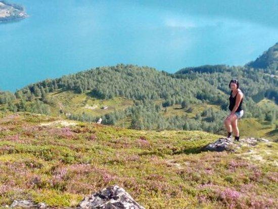 Hafslo, Norway: veľmi teplo a dusno...august