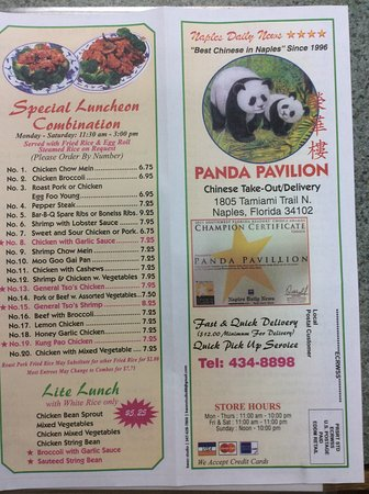 Good Chinese Food In Naples Florida
