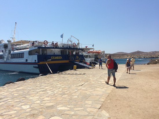 Agia Anna, Greece: Alexander in harbour of Delos
