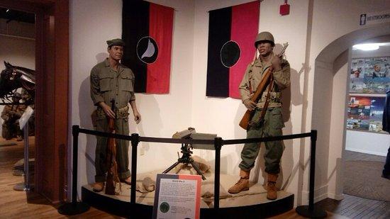 Fort Huachuca, AZ : Buffalo Soldiers in mid-century wars. (WWII-Korea)