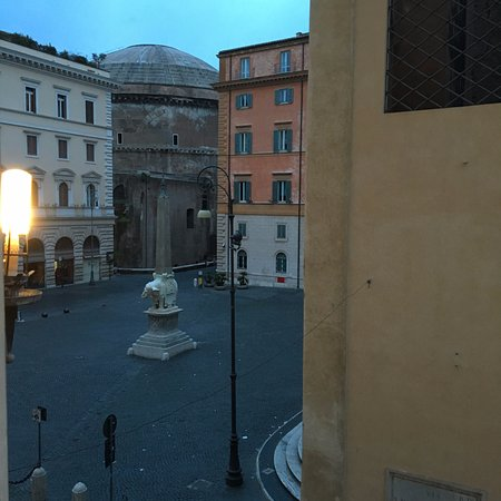 Exclusive Rome Tour - Tours: View from hotel window - Pantheon straight ahead