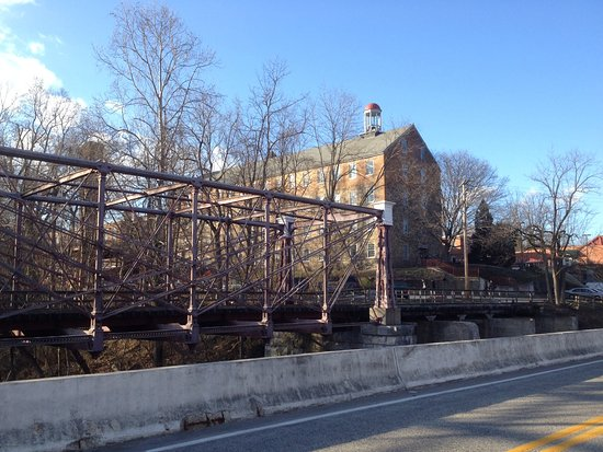 Savage, MD: View from the Bollman Truss bridge
