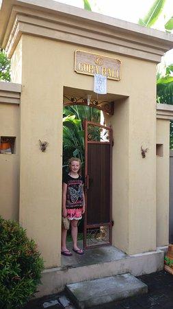 the gate to Gora House