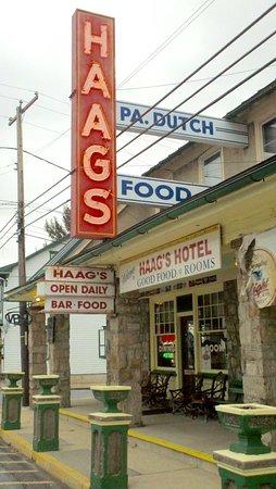 Shartlesville, Pennsylvanie : Haag's Hotel Restaurant