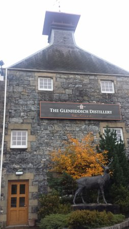 Dufftown, UK: Old distillery Building