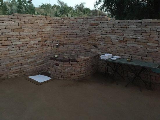 Samsara Luxury Resort and Camp: Open Bath
