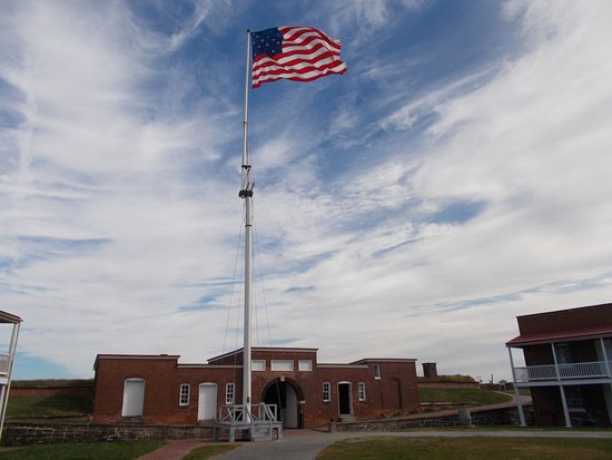 Fort McHenry National Monument: Inside the Fort