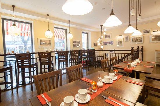 Hotel Kastanienhof: Frühstücksraum