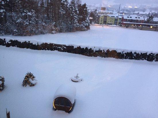 Swiss Heidi Hotel: J'ai passé une nuit dans cet hôtel venant de Davos, j'ai beaucoup aimé l'accueil et le service é