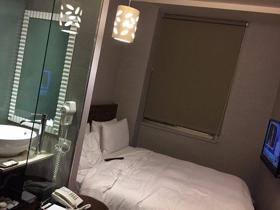 E-Coast Star Hotel: 經濟客房內部
