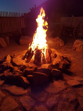 Meadview, AZ: Fire Pit/Sing Along area