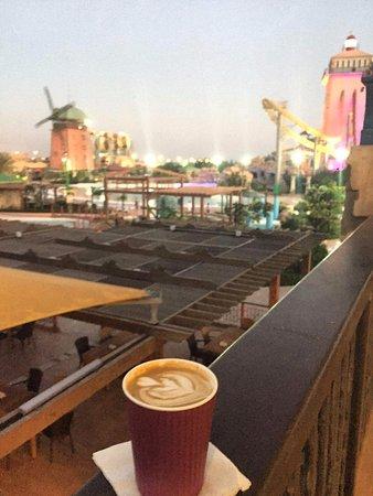Kish Island, Iran: Afternoon Latte