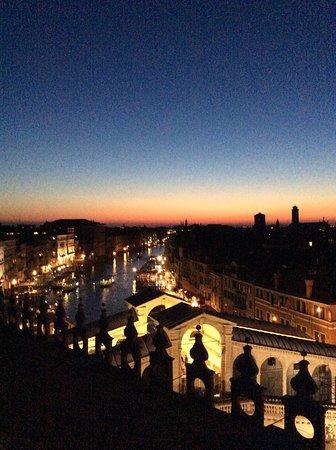 Vista su Venezia terrazza T Fondaco - Picture of Venice, City of ...
