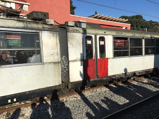Trains are disgusting - ナポリ、チルクムヴェスヴィアーナ鉄道の写真 ...