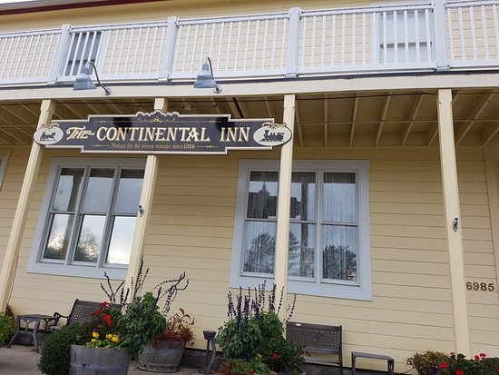 The Continental Inn: Great Little Place for an Over Nighter