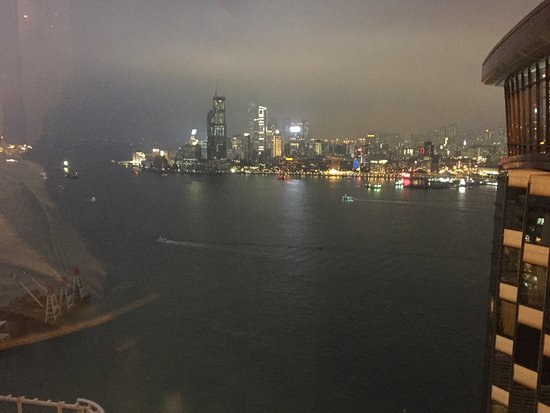Harbour Grand Hong Kong: View from club lounge