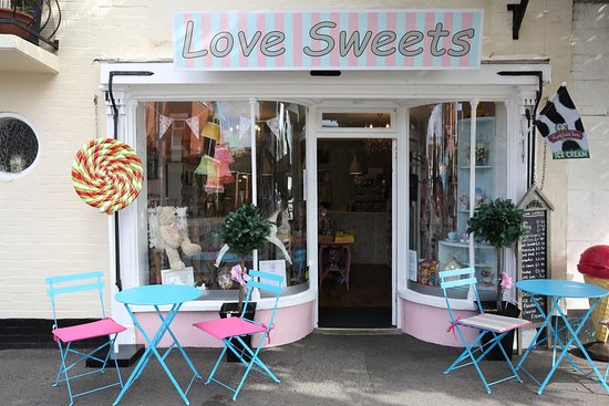 Sutton-on-Sea, UK: Love Sweets