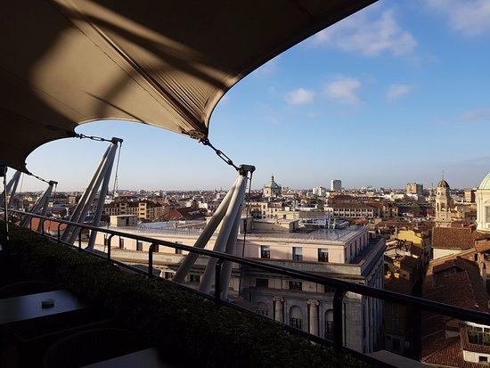 View from rooftop area - Foto di Hotel Dei Cavalieri, Milano ...
