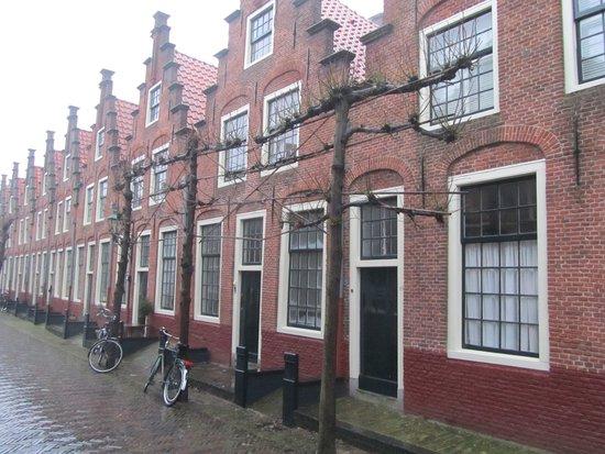 Gasthuis Huisjes (van het vroegere St. Elisabeth's Gasthuis)