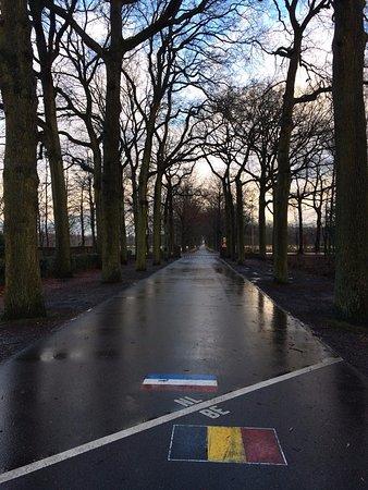 Hamont-Achel, Bélgica: Frontera Belga-Holandesa