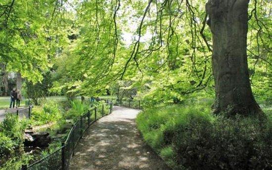 Des all es tranquilles et discr tes pour une promenade amoureuse avec petrouchka photo de - Le jardin des plantes caen ...