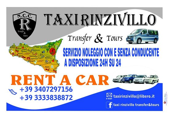 Taxi Rinzivillo - Transfer & Tours
