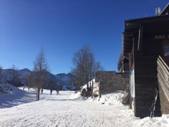 Bohinjsko Jezero, Slovenya: Going to the main piste