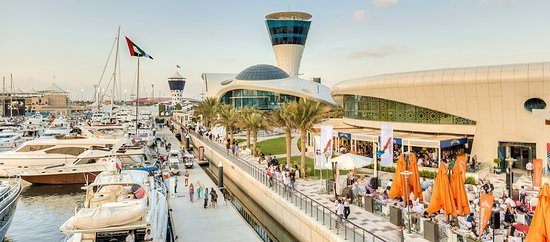 Yas Island, De forente arabiske emirater: Dock, Dine and Discover Yas Marina
