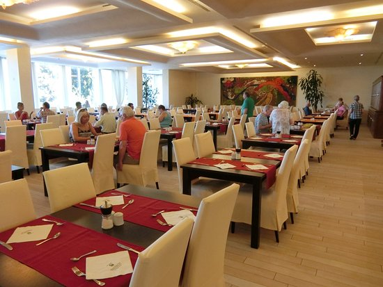 Grand Hotel Park: レストランの様子。